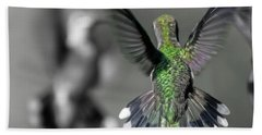 Cumberland Gap Hummingbirds Beach Towel