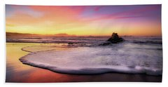 Cup Of Foam Beach Sheet