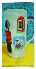 Cup Of London Java Beach Sheet