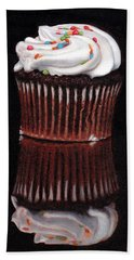 Cupcake Reflections Beach Towel