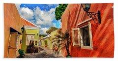 Curacao Colours Beach Towel