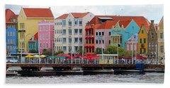 Curacao Willemstad Panorama Beach Towel