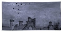Beach Towel featuring the photograph Curse Of Manor House by Juli Scalzi