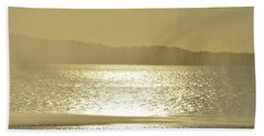 Beach Sheet featuring the photograph Curtain Of Water  by Lyle Crump