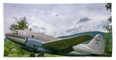 Curtiss C-46 Commando Beach Towel