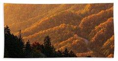 Smoky Mountain Roads Beach Sheet
