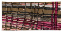 Stalks At Sunset Beach Towel by Sandra Church