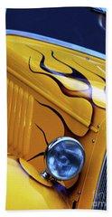 Beach Towel featuring the photograph Custom 1934  Ford Artwork by Baggieoldboy