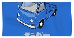 Custom Color Subaru Sambar Truck Beach Towel