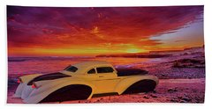Custom Lead Sled Beach Towel