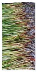 Cut Grass And Pebbles Beach Sheet