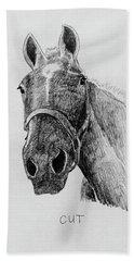 Cut The Horse Beach Sheet