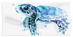 Cute Baby Turtle Beach Towel
