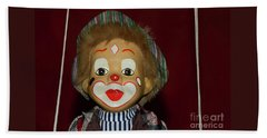 Beach Sheet featuring the photograph Cute Little Clown By Kaye Menner by Kaye Menner