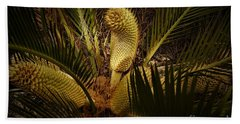 Cycad Beach Towel