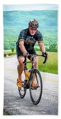 Cyclist Beach Sheet