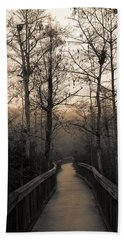 Cypress Boardwalk Beach Towel