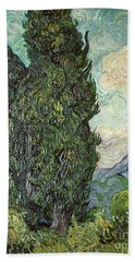 Cypresses Beach Towel