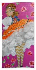 Czardas -- #2 Hungarian Rhapsody Series Beach Towel