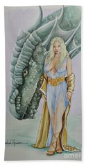 Daenerys Targaryen - Game Of Thrones Beach Towel