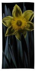 Daffodil By Moonlight Beach Towel
