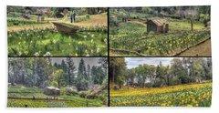 Daffodil Hill Panel 2x2 Beach Sheet
