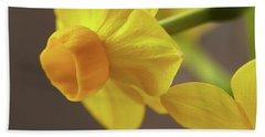 Daffodil Sunrise Beach Towel