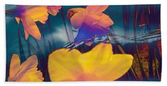 Daffodils #1 Beach Sheet
