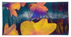 Daffodils #1 Beach Towel