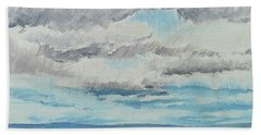 Dagrar Over Salenfjallen- Shifting Daylight Over Distant Horizon 8 Of 10_0029 Beach Towel