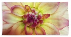 Dahlia Delight Beach Towel