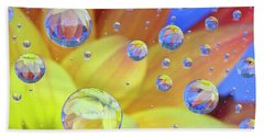 Dahlia Galaxy Two Beach Towel