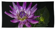 Dahlia Glow Beach Towel