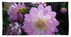 Dahlia In Powerscourt Beach Towel