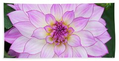Dahlia Oriental Dream Beach Sheet