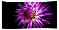 Dahlia Starburst Beach Towel