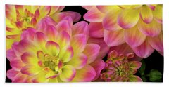 Dahlias Beach Sheet
