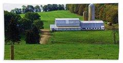 Dairy Country Beach Sheet