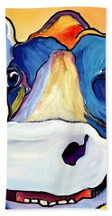 Dairy Queen I   Beach Towel by Pat Saunders-White