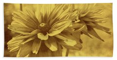 Daisies From Yesterday Beach Towel