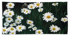 Daisy Bouquet Beach Sheet