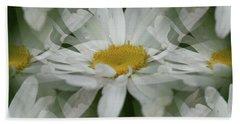 Daisy Dreams In White Beach Sheet