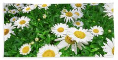 Daisy Garden Beach Towel