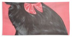 Daisy Scared Little Dog Beach Towel