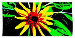 Daisy Beach Towel by Tim Townsend