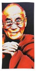 Dalai Lama Beach Sheet