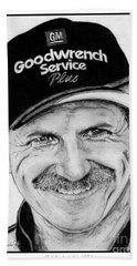 Dale Earnhardt Sr In 2001 Beach Sheet