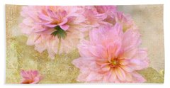 Dahlia Days Beach Sheet
