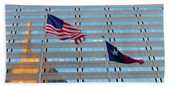 Dallas 3 Of 5 Lone Star Beach Sheet by Tina M Wenger