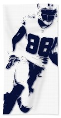 Dallas Cowboys Dez Bryant Beach Towel
